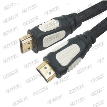 HDMI cable male to male  Full 1080P support double moulding color